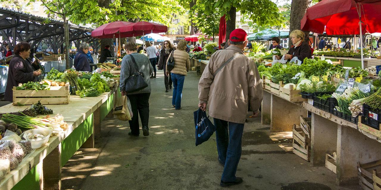 Motiv: Wochenmarkt