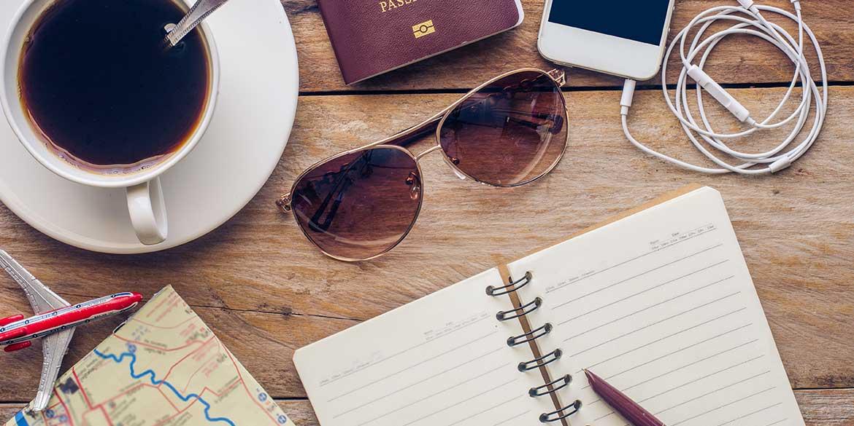 Motiv: Reiseberichte Touristen